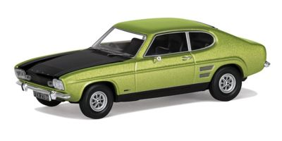 CORGI 1/43scale Ford Capri Mk1 1600GT XLR Fern Green Metallic  [No.CGVA13310]