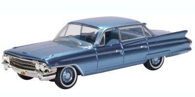 OXFORD 1/87scale Cadillac Sedan Deville 1961 Nautilus Blue  [No.OX87CSD6103]