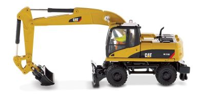 DIECAST MASTERS 1/87scale Cat M318D Wheeled Excavator  [No.DM85177]