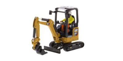 DIECAST MASTERS 1/50scale Cat 301.7 CR Mini Hydraulic Excavator Next generation  [No.DM85597H]