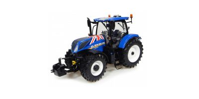 """UNIVERSAL HOBBIES 1/32scale New Holland T7.225 """"Union Jack edition""""  [No.E4901]"""