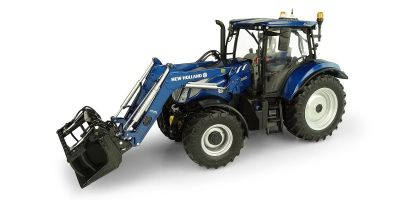 "UNIVERSAL HOBBIES 1/32scale New Holland T6.175 ""Blue Power"" 770TL Front loader  [No.E5320]"