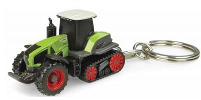 UNIVERSAL HOBBIES scale Claas Axion 960 terra trac key ring  [No.E5858]
