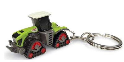 UNIVERSAL HOBBIES scale Claas Xerion 5000 Trac TS Key Ring  [No.E5859]