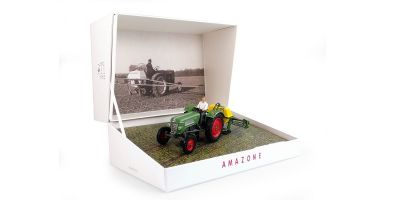 UNIVERSAL HOBBIES 1/32scale Amazone 300S & Fendt Farmer 2 sets (gift box)  [No.E6201]