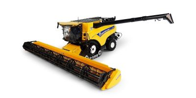 "UNIVERSAL HOBBIES 1/32scale New Holland CR10.90 ""Revelation"" with Trucks 45 years of with 740TL Loader  [No.E6218]"