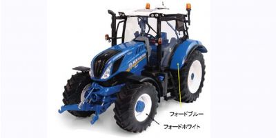 "UNIVERSAL HOBBIES 1/32scale New Holland T6.180 ""Heritage Blue Edition"" Tractor model 100th anniversary model  [No.E6234]"