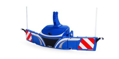 UNIVERSAL HOBBIES 1/32scale Tractorbumper Safetyweight 800kg Blue  [No.E6251]