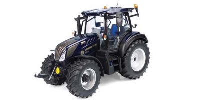 UNIVERSAL HOBBIES 1/32scale New Holland T5.140 Deep Blue Japan New Holland HFT Japan 50th Anniversary Model  [No.E6254]