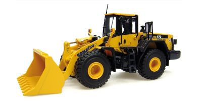 UNIVERSAL HOBBIES 1/50scale Komatsu WA470 Yellow [No.E8001]