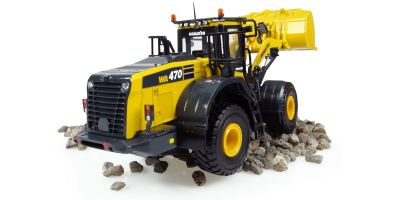 UNIVERSAL HOBBIES 1/50scale Komatsu WA470-8 wheel loader  [No.E8114]