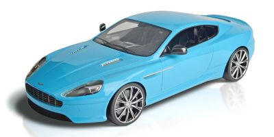 FRONTIART 1/18scale Astone Martin DB9 babyblue [No.F026-33]