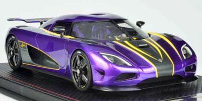 FRONTIART 1/18scale Koenigsegg Agera S Purple [No.F028-16]