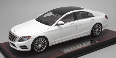 FRONTIART 1/18scale Mercedes-Benz S-Class(V222) limited 150pcs white [No.F044-02]
