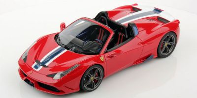 MR Collection 1/18scale フェラーリ 458 スペチアーレ A Red [No.FE012B]