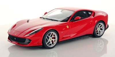 MR Collection 1/18scale Ferrari 812 Superfast ROSSO CORSA (SHINY) Red  [No.FE021C]