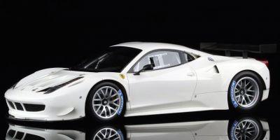 MR Collection 1/18scale Ferrari 458GT2 (Bianco Avus) White [No.FE05D]