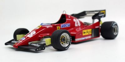 TOPMARQUES 1/18scale 126 C2B 1983 #28 R.Arnoux  [No.GRP033B]