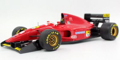 TOPMARQUES 1/18scale 412 T1 #28 1994 G.Berger  [No.GRP018B]