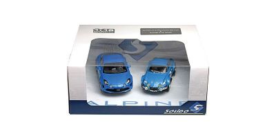 SOLIDO 1/18scale ALPINE A110 2 CAR SET (blue)  [No.S180001P]