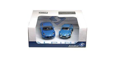 SOLIDO 1/18scale ALPINE A110 2 CAR SET (blue)  [No.S180001P]