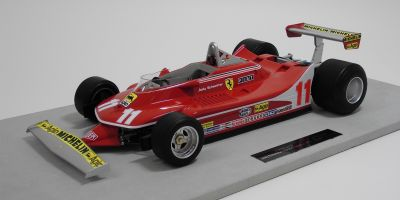 TOPMARQUES 1/12scale Ferrari 312 T4 1979 Jody Scheckter No.11 World Champion [No.GRP001A]