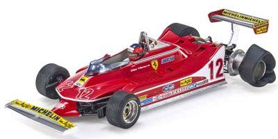 TOPMARQUES 1/18scale 312 T4 Zandvoort No.12 G.Villeneuve with figure  [No.GRP002CN]