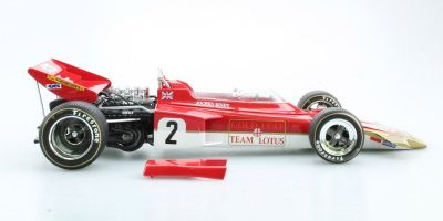 TOPMARQUES 1/18scale Lotus 72 C Gold Leaf No. 2 1970 World Champion Jochen Rindt  [No.GRP013A]