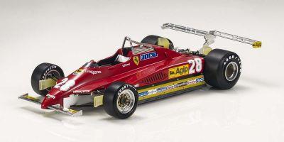 TOPMARQUES 1/18scale Ferrari 126C2 Long Beach # 28 D.Pironi  [No.GRP019D]