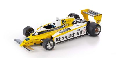 TOPMARQUES 1/18scale Renault RE20 Turbo R. Arnoux No.16  [No.GRP053A]