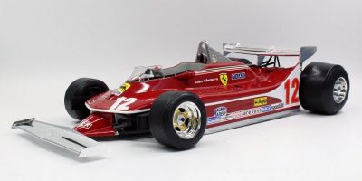 TOPMARQUES 1/12scale 312 T4 No.12 Gilles Villeneuve Short Tail  [No.GRP12001D]