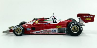 TOPMARQUES 1/43scale Ferrari 312 T2 1977 No.12 C.Reutmann  [No.GRP43003B]