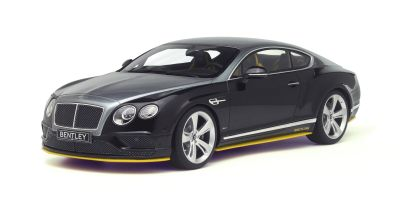 GT SPIRIT 1/18scale Bentley Continental GT Speed Breitling Special color (Black/Gray/Yellow) [No.GTS734]