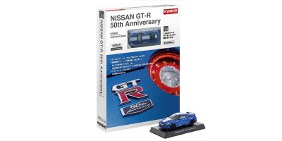 KYOSHO MINI CAR & BOOK No.01 NISSAN GT-R 50TH ANNIVERSARY K07067BLW
