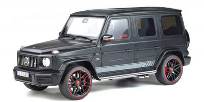 GT SPIRIT 1/18scale Mercedes AMG G63 (Matte Black) Overseas Exclusive  [No.GTS006C]