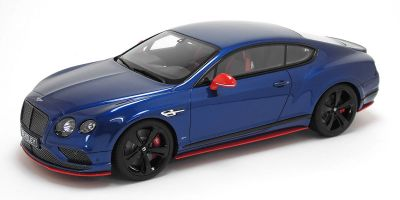 GT SPIRIT 1/18scale Bentley Continental GT Speed Black Edition Blue  [No.GTS006KJ]