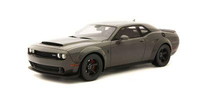 GT SPIRIT 1/18scale Dodge Challenger SRT Demon (Gray)  [No.GTS007US]