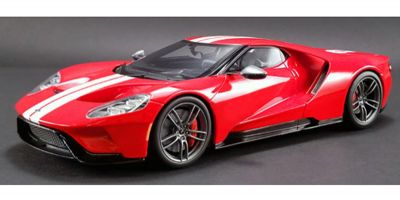 GT SPIRIT 1/18scale Ford GT Heritage Edition (Red / White Stripe) US Exclusive  [No.GTS008US-B]
