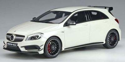 GT SPIRIT 1/18scale Mercedes Benz A45 AMG (White) Hong Kong Exclusive Model  [No.GTS014RT]