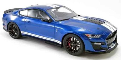 GT SPIRIT 1/12scale Ford Mustang Shelby GT500 2020 (Blue / White Stripe) US Exclusive  [No.GTS023US]
