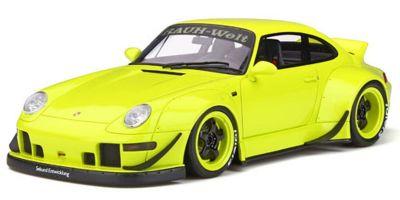 GT SPIRIT 1/18scale RWB 993 Duck Tail (Neon yellow)  [No.GTS026KJ]