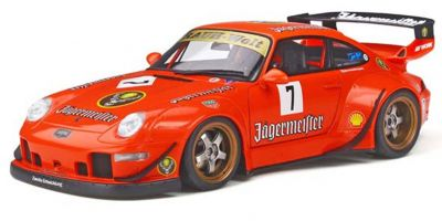 GT SPIRIT 1/18scale RWB 993 (Orange / Jagermeister) Asia Exclusive Limited to Japan: 250  [No.GTS039KJ]