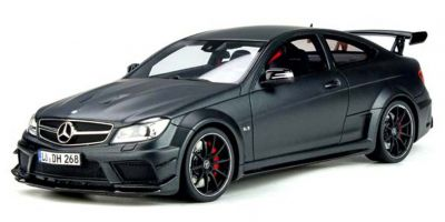 GT SPIRIT 1/18scale Mercedes Benz C63 AMG Coupe Black Series (Matte Black) Overseas Exclusive  [No.GTS843C]