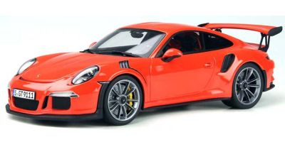 GT SPIRIT 1/18scale Porsche 911 (991.1) GT3 RS (Orange Red) Overseas Exclusive  [No.GTS844C]