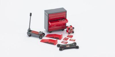 HOBBY GEAR 1/24scale Backyard Mechanic [ ツールボックス、フロアランプ、発電機、工具セット 他 ] [No.HB16057]
