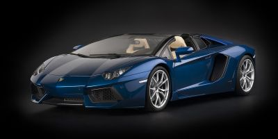 Pocher 1/8scale Lamborghini Aventador LP 700-4 Roadster - Blu Monterrey metallic blue [No.HK103]