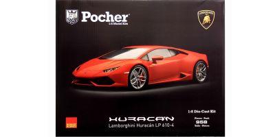 Pocher 1/8scale Lamborghini Huracan LP610-4 assembly kit Rosso mars(Metallic Red) [No.HK105]