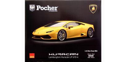 Pocher 1/8scale Lamborghini Huracan LP610-4 assembly kit Giallo midas(Pearl yellow) [No.HK106]
