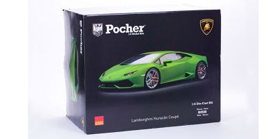 Pocher 1/8scale Lamborghini Huracan LP 610-4 assembly kit (Verde Mantis / metallic green)  [No.HK109]