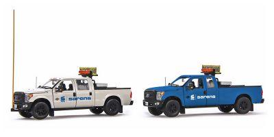 IMC Models 1/50scale Ford F250 Pickup Trucks Escort Set Sarens  [No.IMC201042]